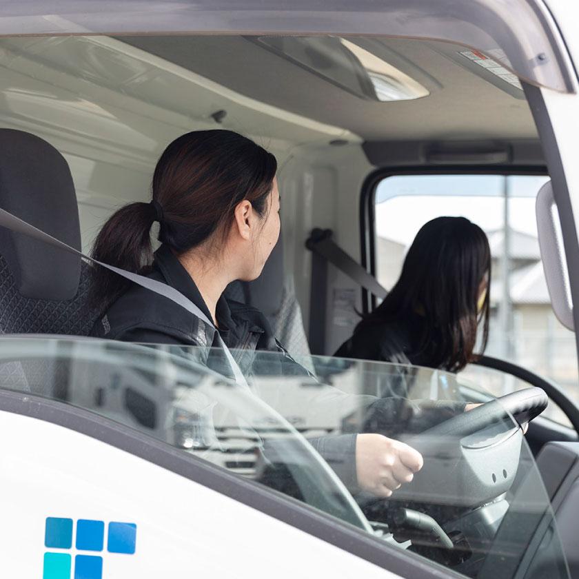 運送・ドライバー